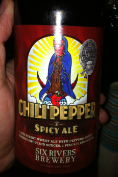 Chili Pepper Spicy Beer