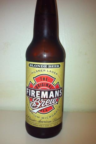 Firemens Blonde Beer